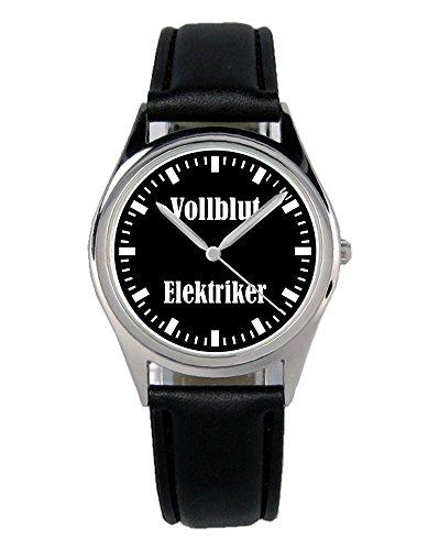 Elektriker Handwerker Geschenk Artikel Idee Fan Beruf Uhr B-2171