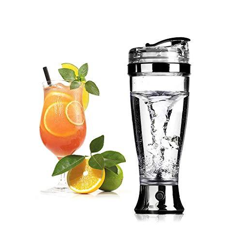 Botella automática Blender Mixer Copa Premium eléctrico de la coctelera de la Botella, Libre de BPA - 450ml Vortex Mezclador portátil de la Copa de la batería/Shaker Copas de Batidos de proteínas