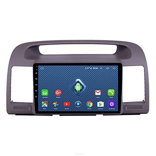 DGDD Android 10.0 9 Pulgadas 2.5D HD Pantalla Táctil Navegación GPS Coche Estéreo Radio Ser Aplicable para Toyota Camry (2000-2005) Apoyo Manos Libres WiFi 4G FM Am SWC DSP Mirror Link 2G+32G