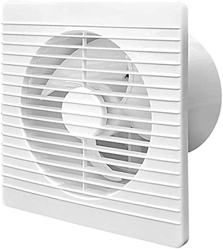 Ventilator, badkamer ventilator, wand- huishoudelijke cirkelvormige uitlaatventilator, geschikt voor toiletten, keukens, badkamers, etc.
