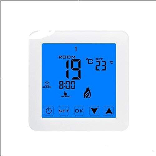 KAIBINY Smart WiFi Wireless Digital Programable Termostato LCD Touch Aplicación Controlador de Aplicaciones, Hogar Suelo de Aire Calefacción Control de Temperatura