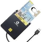 zoweetek Smart Dual Card Reader, tragbares Design und große Mirco, SDXC, SDXC Speicherkarte, Plug und Play.