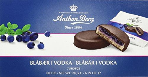 Anthon Berg Blueberry in Vodka, 6er Pack (6 x 192.5 g)