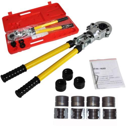 Pinza Crimpatrice 12-32mm Press Pinza Per Tubi Compositi PEX Tubo di Piegatura Pinza Crinmping Tool