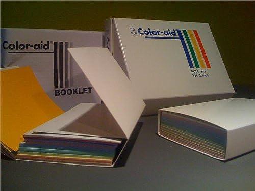 Farbeaid - Farbmuster - komplettes Set mit 314 Farben - 7,5 cm x 11,5 cm
