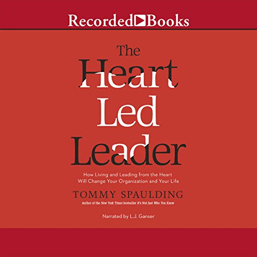 The Heart-Led Leader audiobook cover art