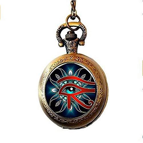 XQKQ Reloj de Bolsillo Grabado, Cadena de Reloj de Bolsillo,