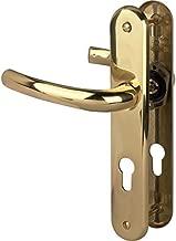 acier inoxydable mat 3080755 Hoppe Poign/ée de Stockholm avec rosace PZ Cylindre profil/é