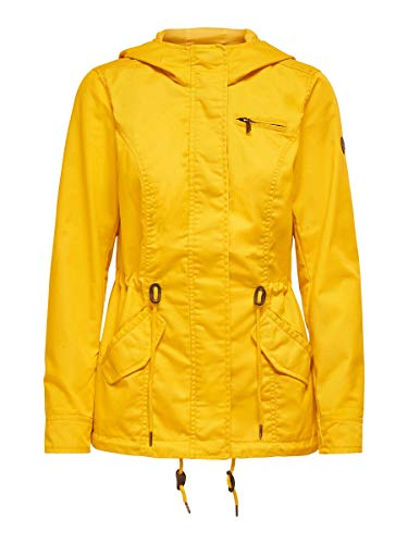 ONLY Damen ONLNEWLORCA Spring Canvas CC OTW Parka, Solar Power, S