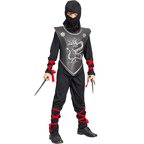 fyasa 706051-t02 Ninja kostuum, medium