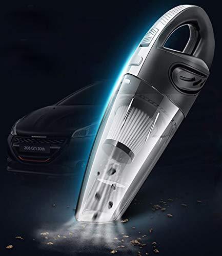 Aspirador de Mano, batería Recargable, sin Bolsa, Invictus One Aspirador de Mano 120W / 25min USB inalámbrico Aspirador Potente en seco y húmedo para automóvil/casa, filtros Lavables