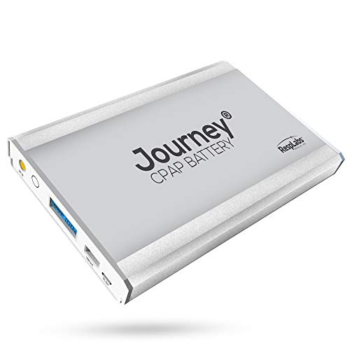RespLabs Journey CPAP Battery, Backup Power Supply. Compatible with ResMed AirSense 10 or Philips Respironics DreamStation