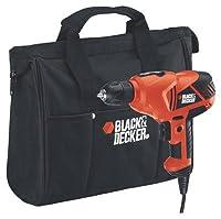 Black & Decker/Dewalt DR260B Variable-Speed Drill with 3/8-Inch Chuck - Quantity 2 by Black & Decker/Dewalt