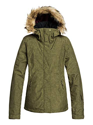 Roxy Jet Ski - Snow Jacket for Women - Schneejacke - Frauen - M - Braun