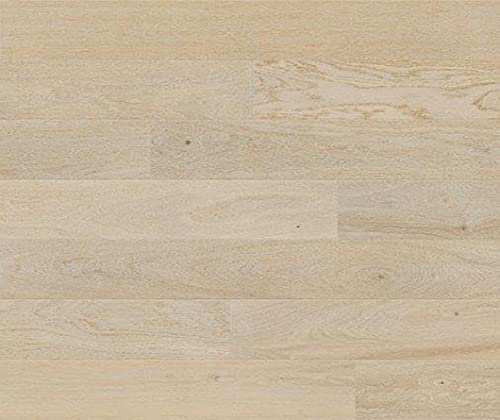 HORI® Klick Parkett 300 Dielenboden Parkettboden Eiche Family weiß gebürstet Landhausdiele 1-Stab mit Fase matt versiegelt I Eiche I 7 Dielen im Paket = 0,99 m²