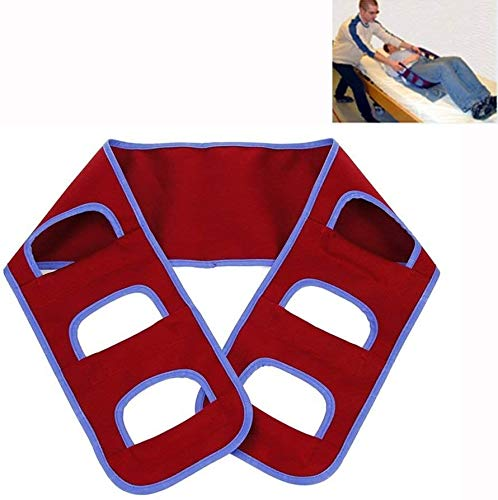N\A AY Umsetzhilfe Gürtel Rollstuhl Sliding Medical Lifting Sling Turner Patient Care Sicherheit Mobilitätshilfen Ausrüstung Pflege Gait Gürtel (Color : Purple)