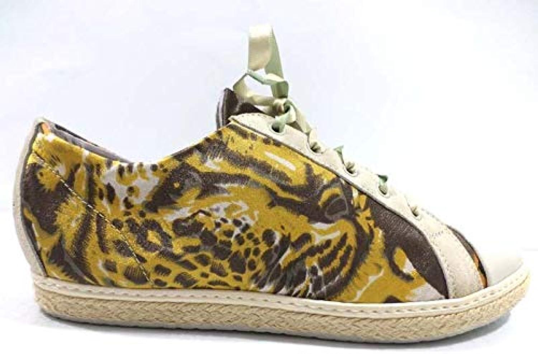 SOISIRE SOIEblue Fashion-Sneakers Womens Yellow