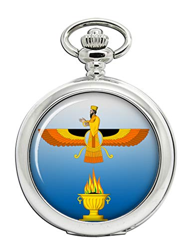 Faravahar Full Hunter reloj de bolsillo
