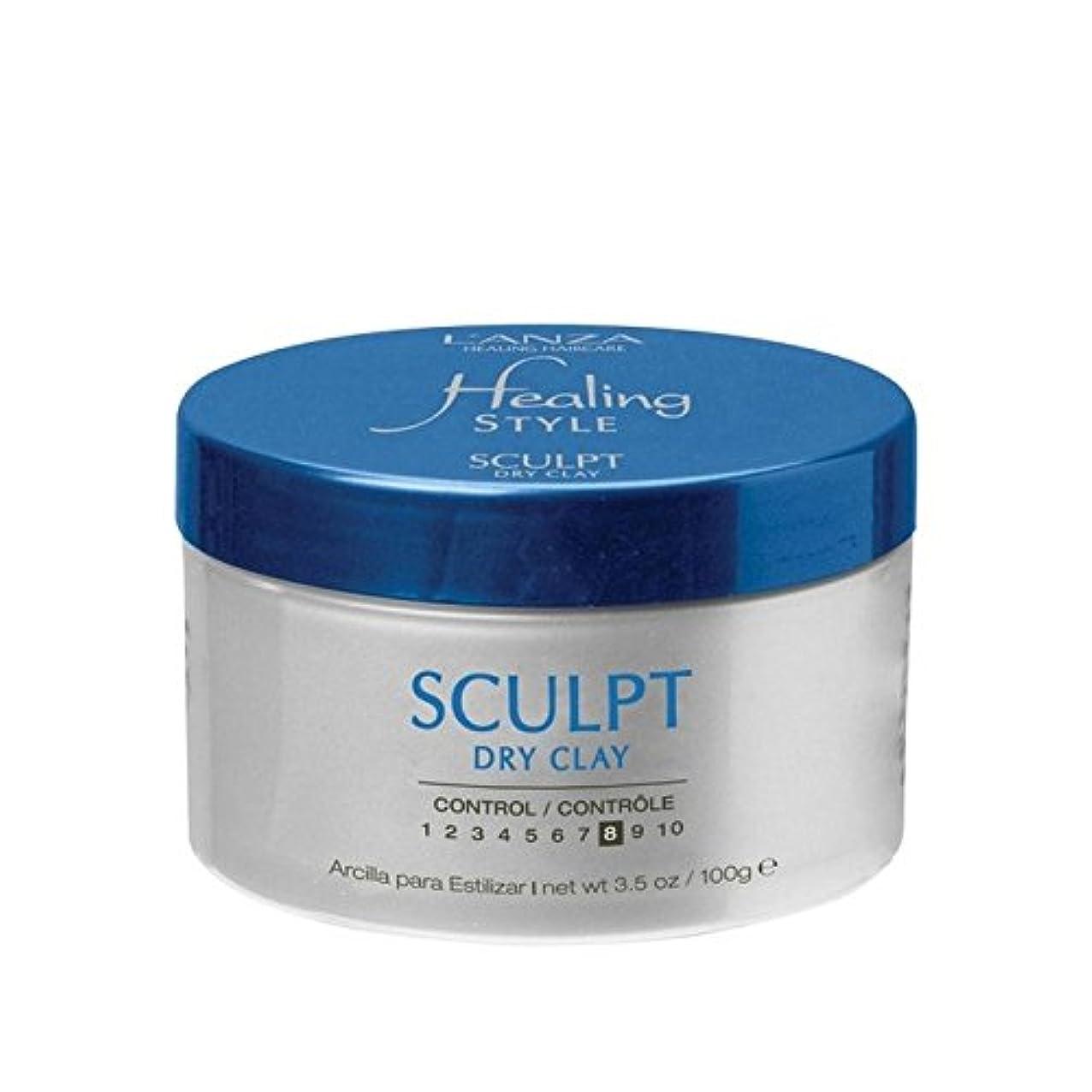 早く除去偏差L'Anza Healing Style Sculpt Dry Clay (100G) (Pack of 6) - のアンザ治癒スタイル乾燥粘土(100グラム)を彫刻 x6 [並行輸入品]