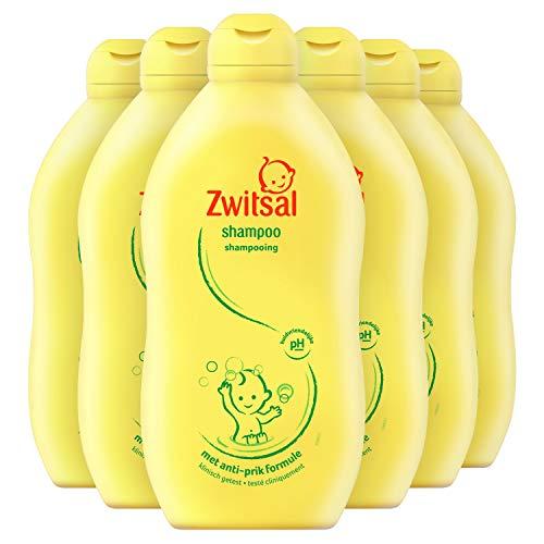 Zwitsal Baby Shampoo 6 x 500 ml Voordeelverpakking