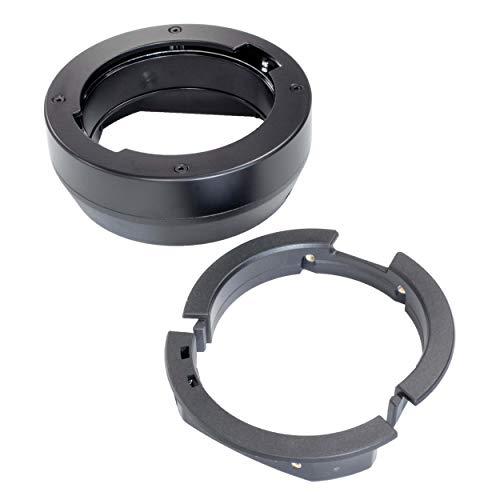 Anillo adaptador CITI300 Pro y adaptador de montaje para flash estroboscópico, unidad...