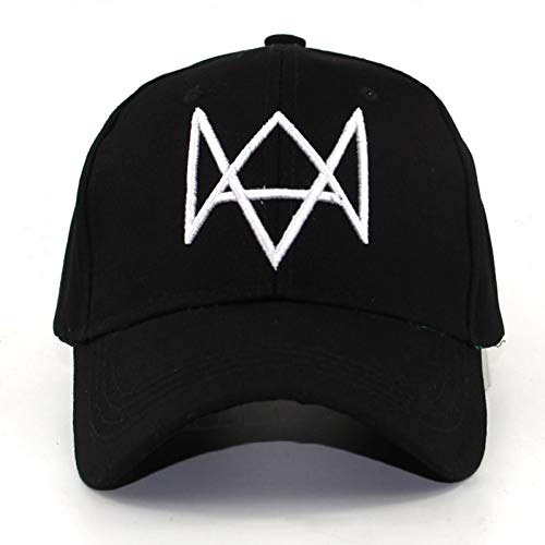 OEWFM Baseballmütze Watch Dogs Hats Cap Mann Videospiele Aiden Peace Caps Tisch Baseball Cap Fashion Hüte