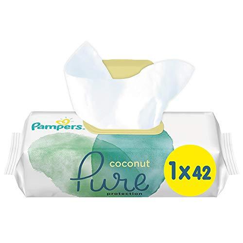 PAMPERS - Toallitas de coco puro, 1 unidad