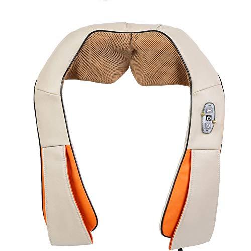 Shiatsu Nek Schouder Massager, Deep Kneden Tissue Massage met automatische tijdmeting bescherming tegen oververhitting functie, for Spieren, rug, voet, nek, schouder, been