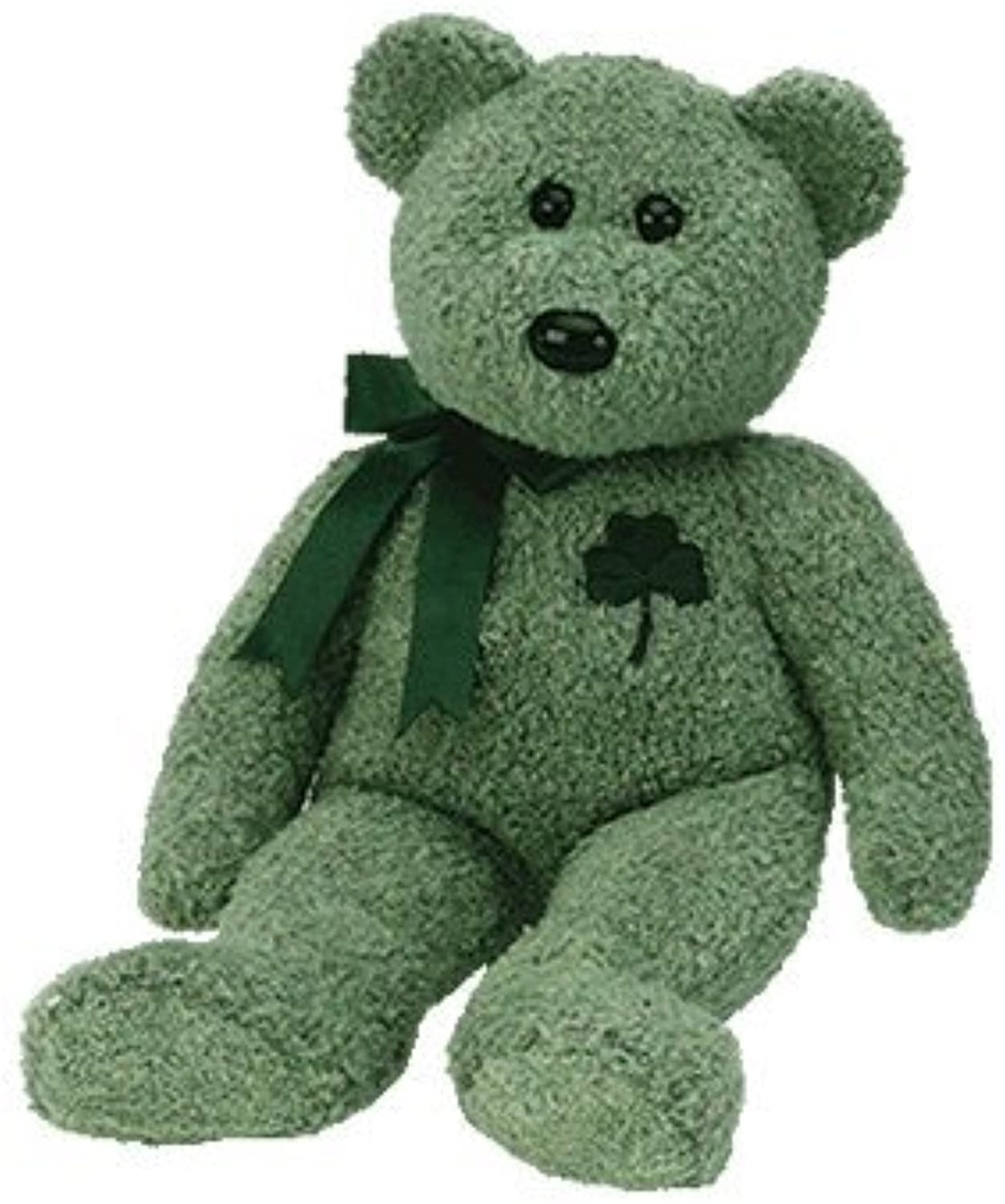 TY Shamrock the Bear Buddy 14