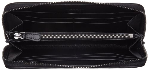 [ボッテガヴェネタ]長財布(ラウンドファスナー)イントレチャート,レザー1000(ブラック)[並行輸入品]