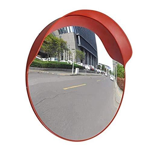 Jiamuxiangsi Verkeersspiegel, rond, verkeer, spiegel, oranje, straatspiegel, outdoor, veiligheidsspiegel, convexe spiegel, voor thuis