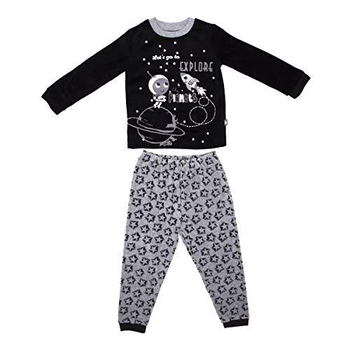 Pijama niño manga larga Cosmos–Talla–4/5años (104/110cm)