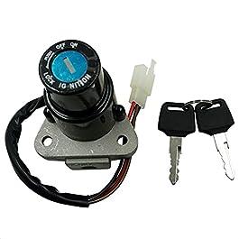 Accessoires de moto Start de démarrage d'allumage Serrure Ajouter des clés pour FZR250 87-88 FZR400 88-90 TZR250 TZM150…