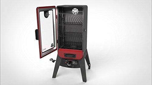 PIT BOSS 77435 Vertical Lp Gas Smoker, Red
