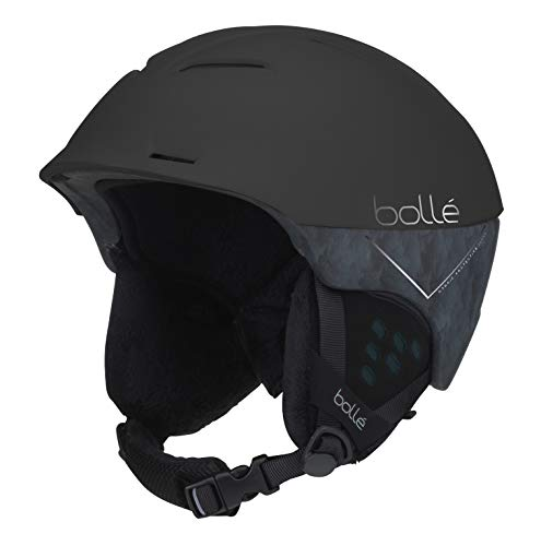 bollé Synergy, Casco da Sci Unisex Adulto, Nero (Black And Blue), M