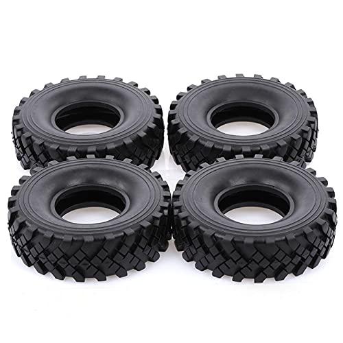 UJETML (H) Neumáticos RC Crawler 4pcs 2.2 Pulgadas 127mm Roca Llantas de rastreo 1/10 RC Rock Crawler Neumáticos para 1:10 Rock Wraith RR10 TR-0-4 RC Rock Crawler 0 Neumáticos RC Slash 4x4 Neumáticos