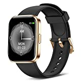 Smart Watch Fitness Tracker with 24/7 Heart Rate, Blood Oxygen Blood Pressure, and Sleep Monitor, Full Touch 6 ATM Waterproof Smartwatch, Step Counter Watch for Kids Women Men for Android iPhone