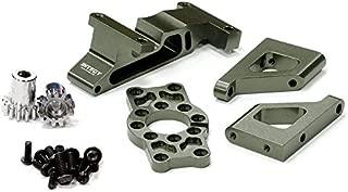 Integy RC Model Hop-ups T3285GUN Brushless Conversion Motor Mount Set for 1/10 Revo 3.3 & Slayer (Both)