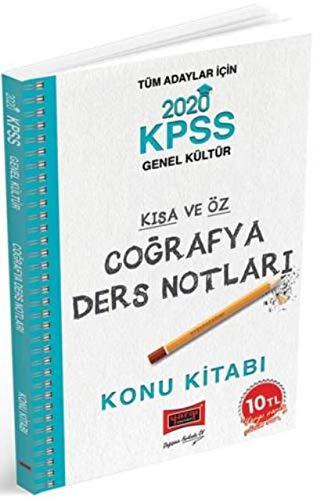 2020 KPSS Coğrafya Kısa ve Öz Ders Notları