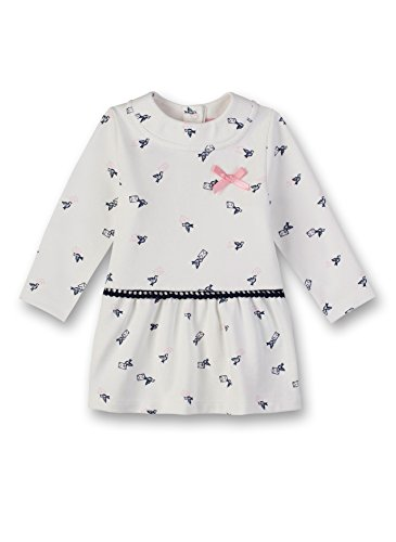 Sanetta Baby-Mädchen Kleid Dress Beige (Ivory 1829.0) 80