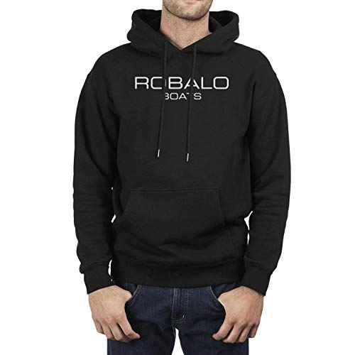 NINETYRW Best Mens Hoodies Robalo-Boats-Logo- Sweatshirts Man Blend Fleece Pullover