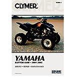 Clymer Yamaha Raptor 660R, 2001-2005 (Clymer All-terrain Vehicles) (Clymer All-Terrain Vehicles) (Paperback) - Common