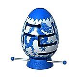 Smart Egg Blue Dragon: 3D Puzle Laberinto, un Rompecabezas difícil (1er Nivel de dificultad de 3), para los Fanáticos de los Rompecabezas (para 8+) - Resolver el Laberinto Dentro del Huevo