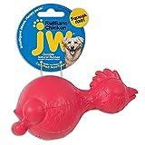 JW Pet Ruffians Dog Fetch and Chew Toy, Chicken