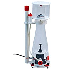 Buble Magus protein skimmer product image mostly white with red and black
