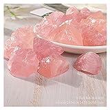 JINYIWJ Cristal áspero Piedra Rosada de Cristal Rosado, Aroma Natural Piedra difundida, espécimen de Mineral (Color : Size01)