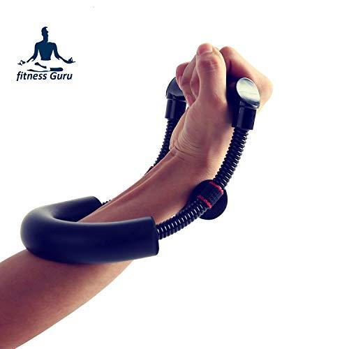 Fitness Guru Wrist Strengthener Forearm Exerciser Hand Developer Strength Trainer for Athletes, Fitness Enthusiasts, Professionals