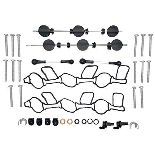 MASO Kit de réparation de clapet de collecteur d'admission pour Audi Q5 3.0 Tdi V6 059129711