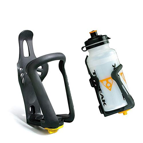 Fung Durable Bicycle Bottle Cage Bicycle Plastic Adjustable Size Bottle Cage Mountain Bike Hup Holder Drink Holder for Outdoor Sports Bicycle