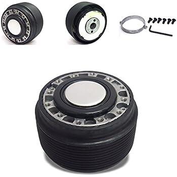 For Miata//RX7//RX8//Protege Aluminum Steering Wheel 6-Hole Hub Adaptor Kit Blue